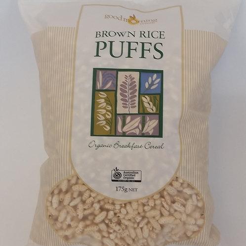Brown rice puffs, 175g