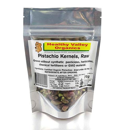 Pistacio kernels, raw 75g