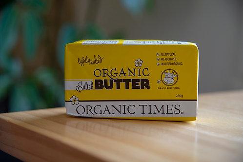 Butter, salted 250g