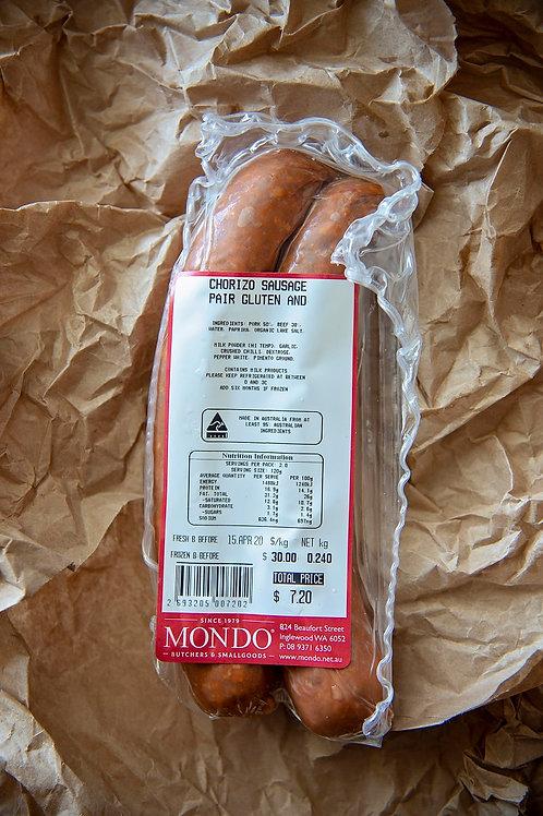 Meat - chorizo sausage 2-pack