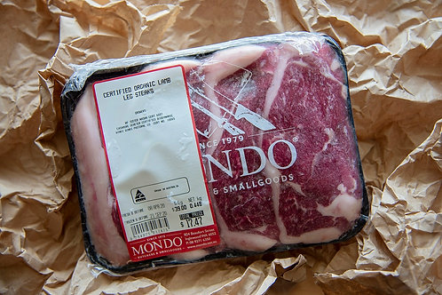 Meat - lamb leg steaks ~500g