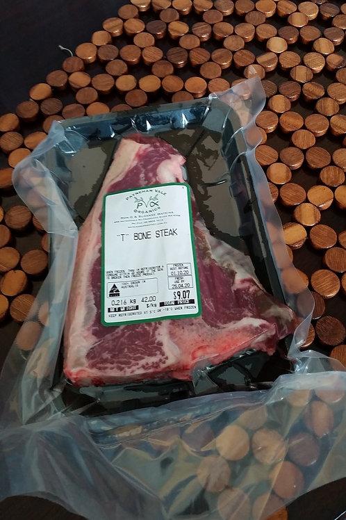 Meat - beef T-bone steak ~250g