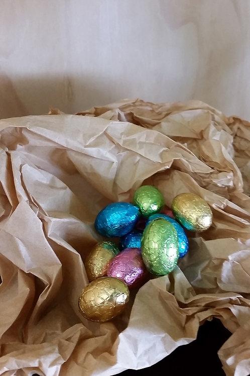 Easter eggs, mini carob 7g