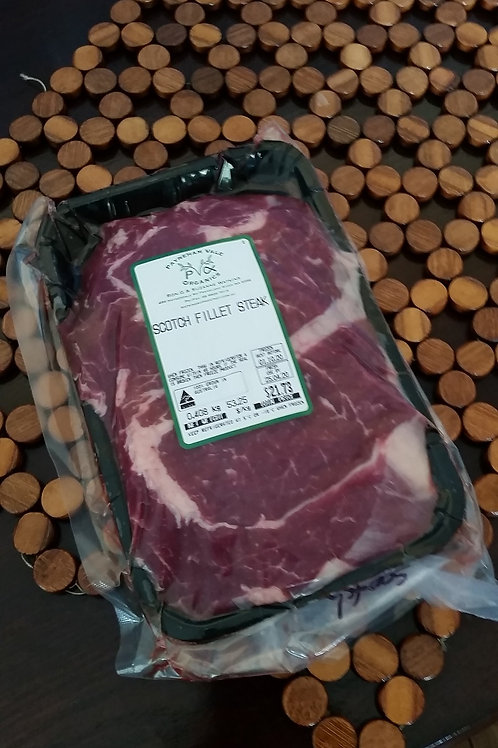Meat - beef scotch fillet ~450g