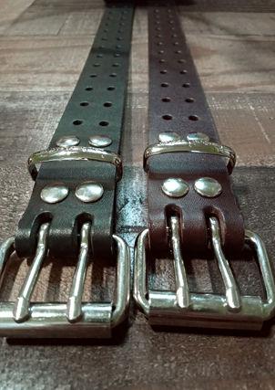 Double Punch Belts