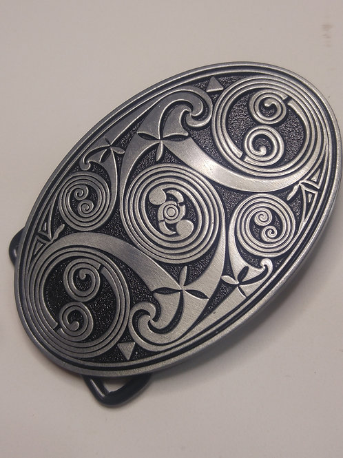 Celtic Vortex Belt Buckle