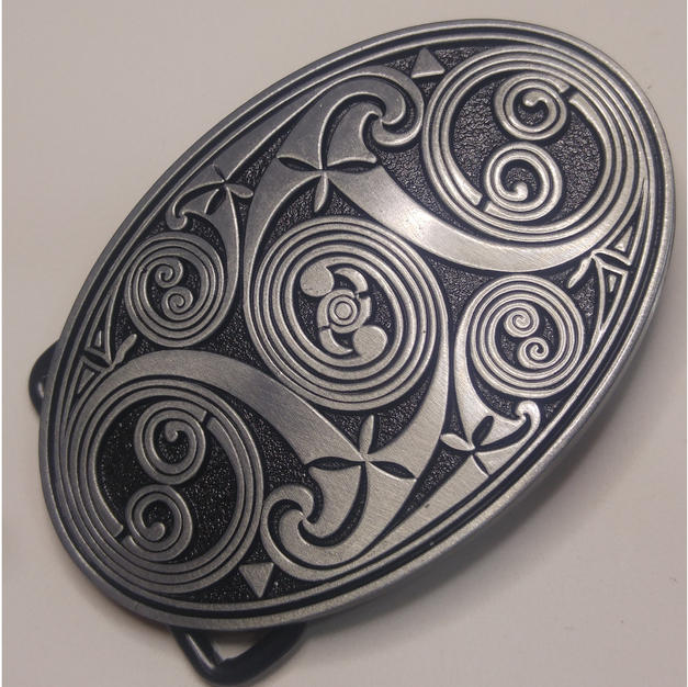 Celtic Vortex Belt Buckle