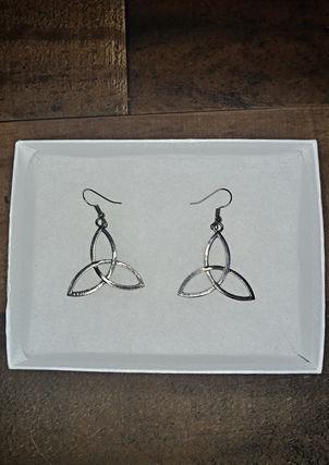Triqutra Earrings