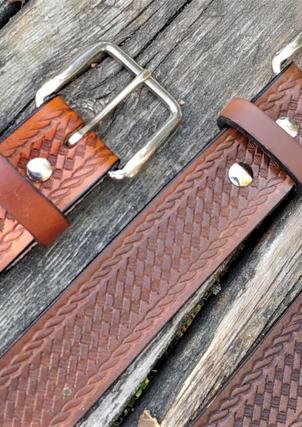 Basketweave Belts