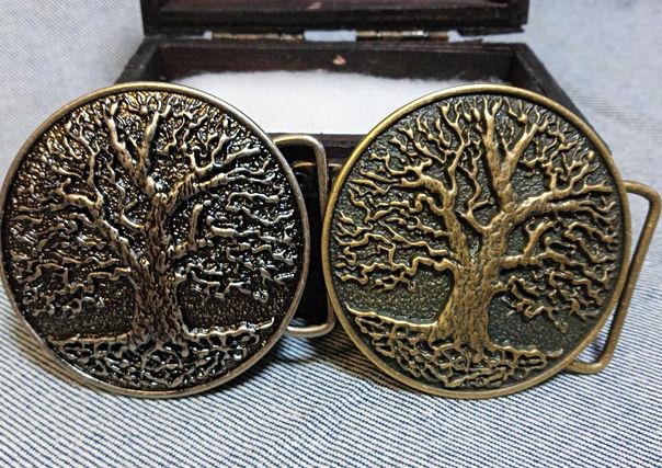 Oak Tree Belt Buckles