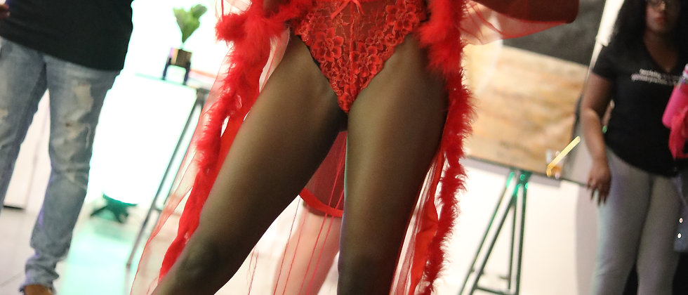 Feather Trimmed Robe