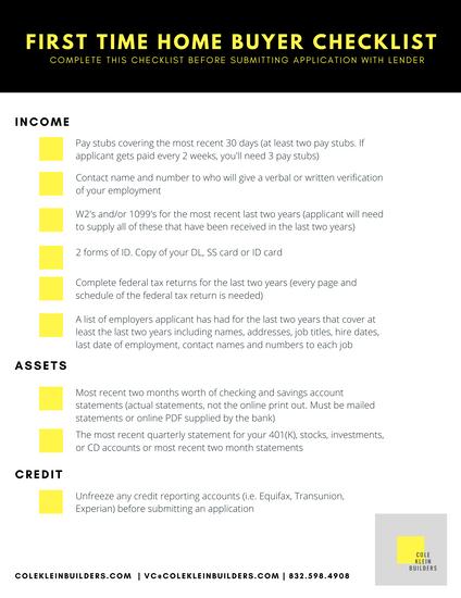 Cole Klein Builders Lender Checklist.png