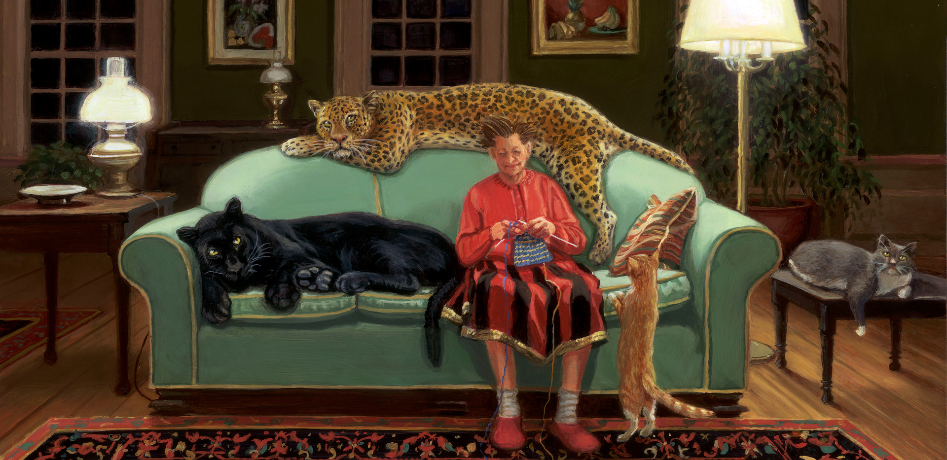 Knitting with Cats