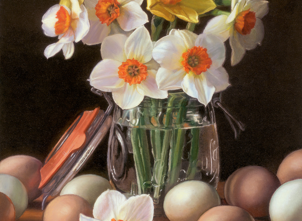 Daffodils and Eggs