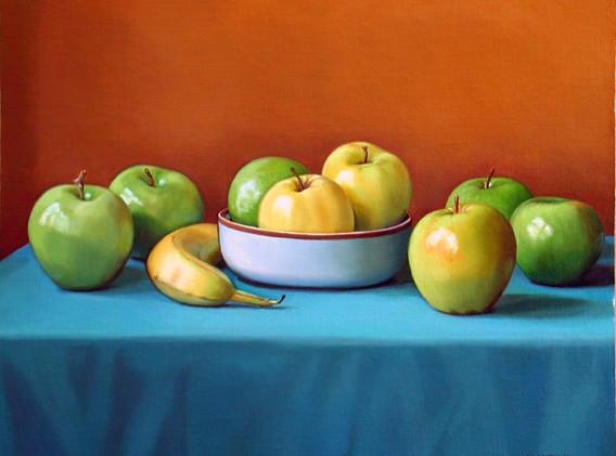 Apples and Banana