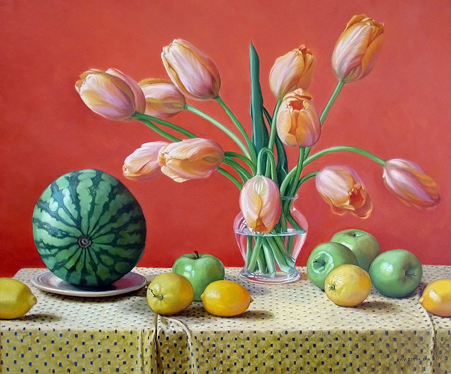 Tulips and Watermelon