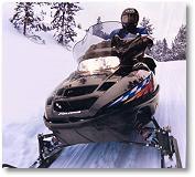 Mercer Beaver Lodge snowmobiling