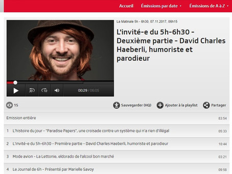 RTS Radio - La Matinale