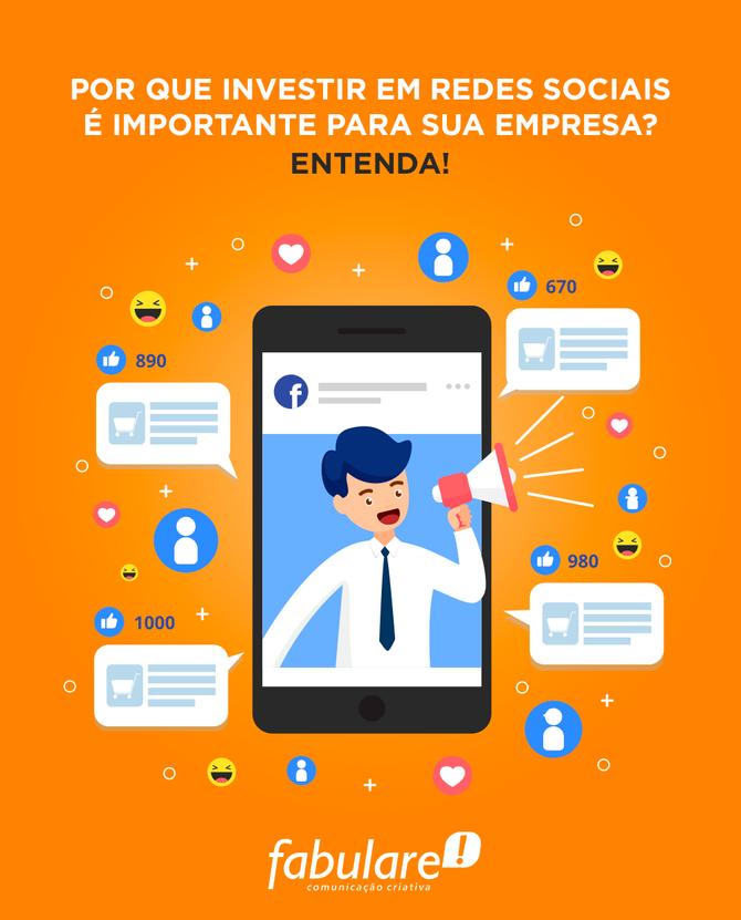 Por que investir em redes sociais é importante para sua empresa? Entenda!