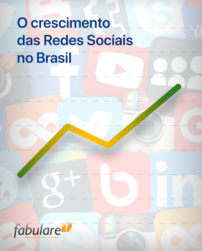 Crescimento das Redes Sociais no Brasil