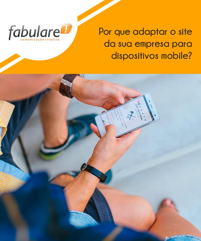 Por que adaptar o site da sua empresa para dispositivos mobile?