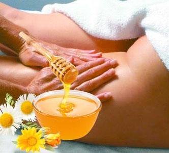 Тайский антицеллюлитный медовый массаж