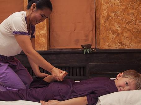 """Тайский массаж для детей """"МАЛЕНЬКИЙ БУДДА"""""""