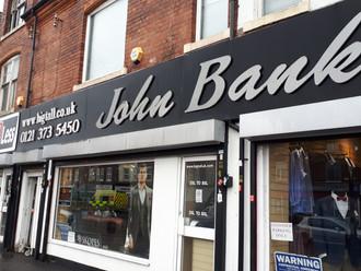 Thank you John Banks!