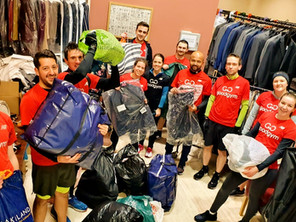 Record Breaking Donations at the Jewellery Quarter Suit Drive