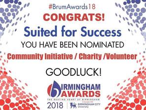 Birmingham Awards 2018 nominee