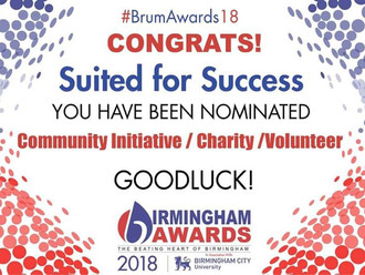 Birmingham Awards 2018 nominee