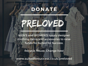 Preloved @ Suited for Success