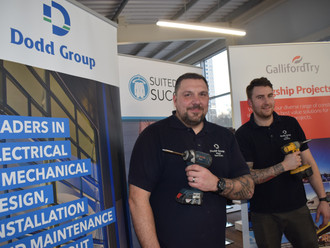 Charity job lights up Suited for Success