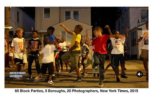 65 Block Parties, 5 Boroughs, 20 Photogr
