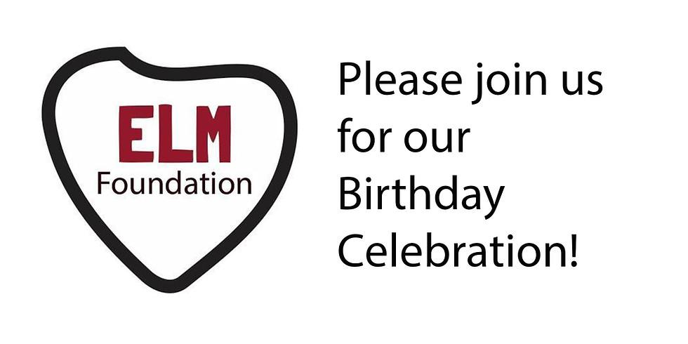 ELM Foundation Birthday