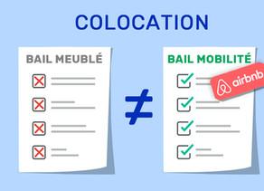Colocation : Bail meublé vs Bail mobilité sur Airbnb