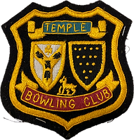 Historic Temple Bowling Club shield