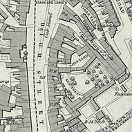 Denmark Hill map 1877