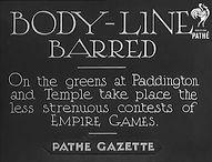 British Pathe Empire Games 1934