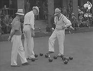Temple Bowling Club Empire Games 1934
