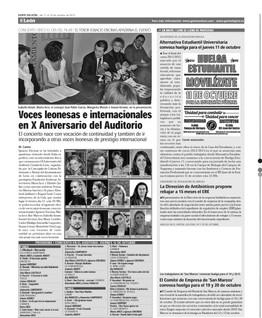 Gente en Leon 2012
