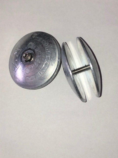 Cage Mount Zinc Anode.  (2 pack)