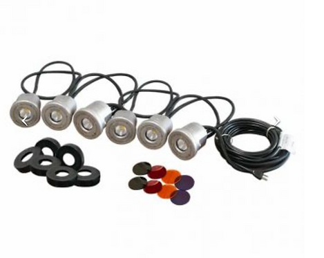 Stainless Steel LED Light Kits  Choose 3 or 6 Lights