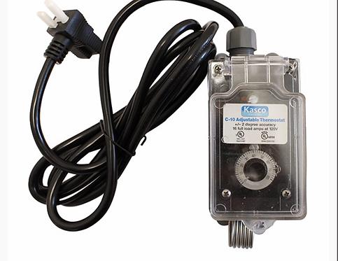 C - !0.  Thermostat Control 120V
