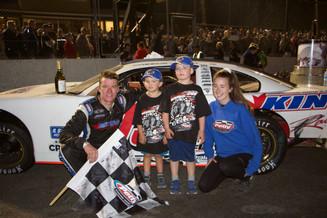 2017 Mike Stevens Mermorial 200 victory