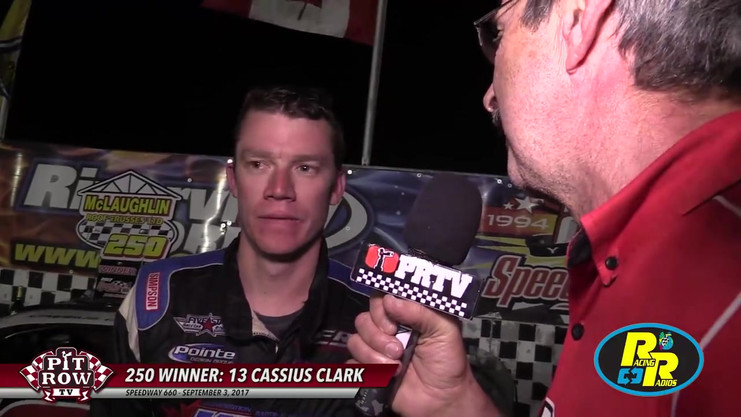2017 Mclaughlin 250 victory post race interview