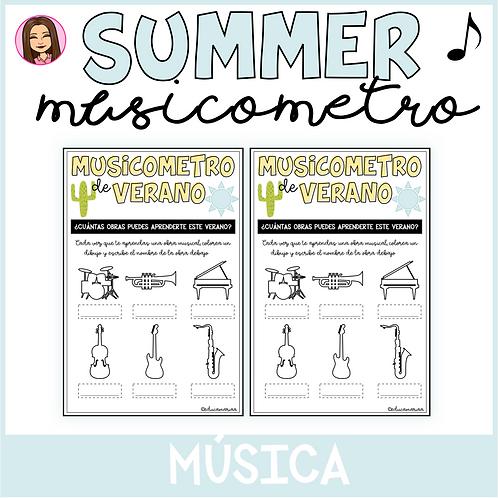 Musicómetro de verano