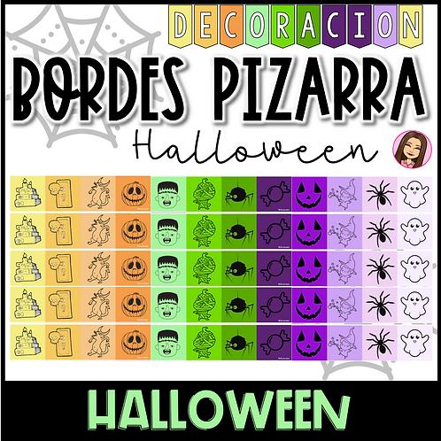 Bordes de Pizarra Halloween