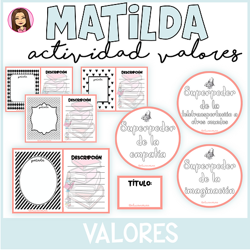 MATILDA Actividad para Valores