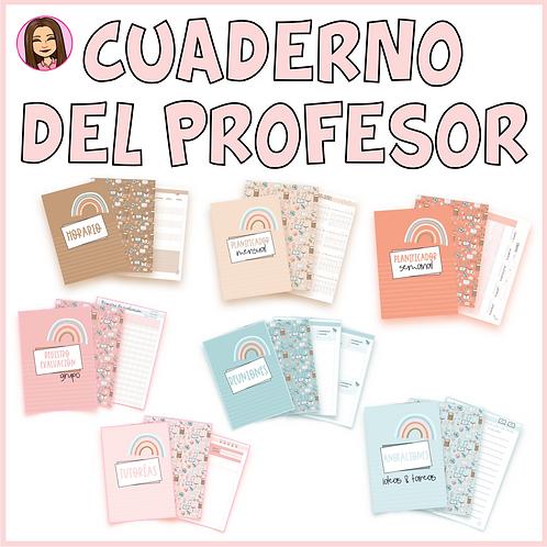 Cuaderno del profesor (COMPLETO y EDITABLE)